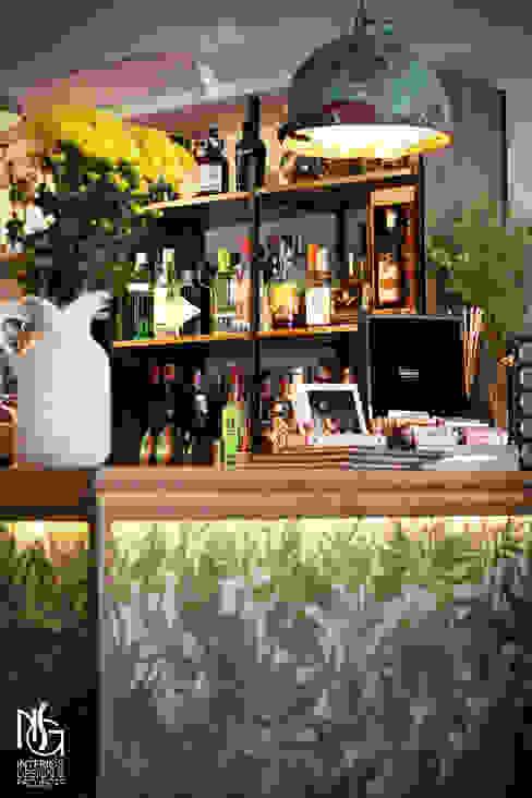 Después barra de NSG interior Design & Projects, reformas y decoración en Mallorca