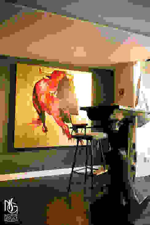 Después: reception de NSG interior Design & Projects, reformas y decoración en Mallorca