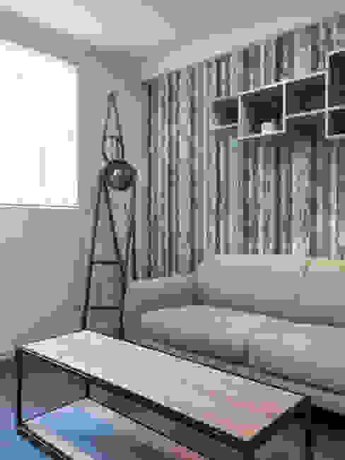 Estudio Arquitectura y construccion PR/ Remodelaciones y Diseño de interiores / Santiago, Rancagua y Viña del mar Minimalist living room
