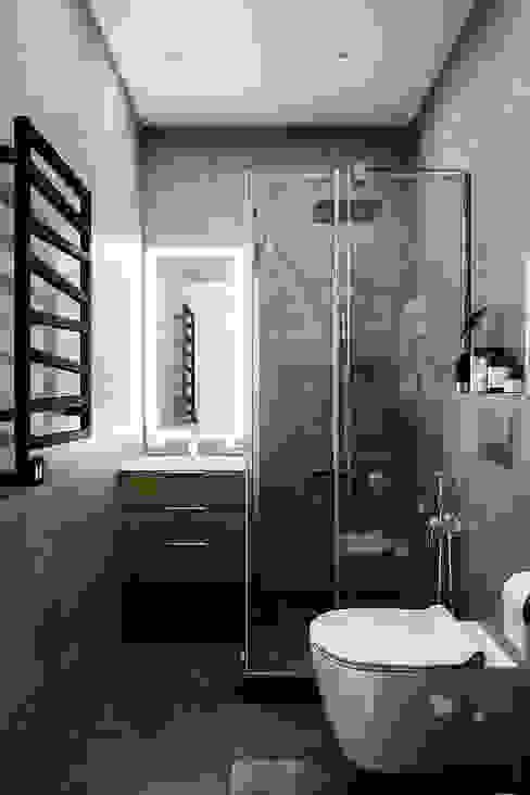 Casas de banho  por Студия архитектуры и дизайна Дарьи Ельниковой, Minimalista