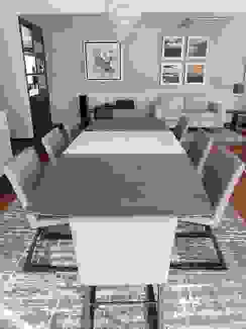 Comedor Después:  de estilo  por Alicia Ibáñez Interior Design,