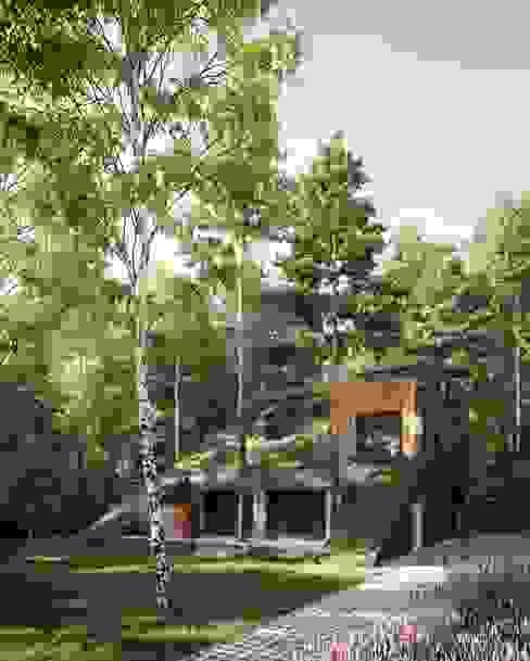 ГоркаДом // HillHouse от Snegiri Architects Минимализм