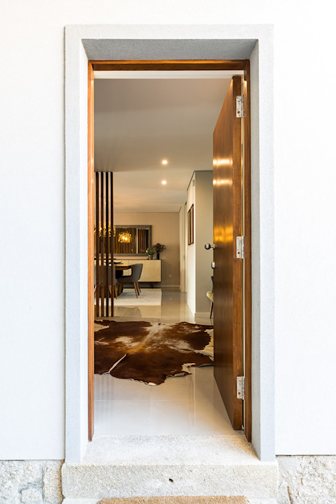 SHI Studio, Sheila Moura Azevedo Interior Design의  복도 & 현관
