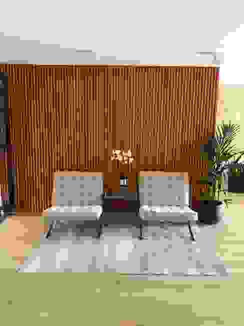 decoración de este recibidor. Salones de estilo moderno de Decorando tu espacio - interiorismo y reforma integral en Madrid. Moderno