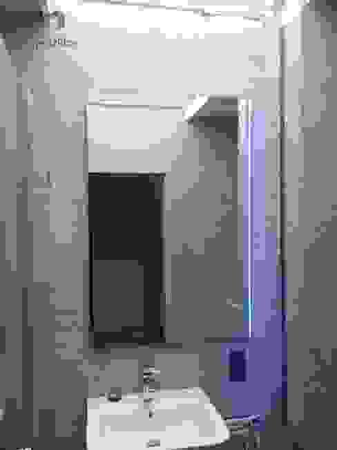 Lustro z poświatą LED od Moje Szkło Nowoczesny Szkło