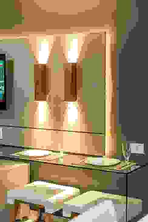 Iluminação de efeito:   por Espaço Arquitetural | Arquitetos em Natal,Moderno Cobre/Bronze/Latão