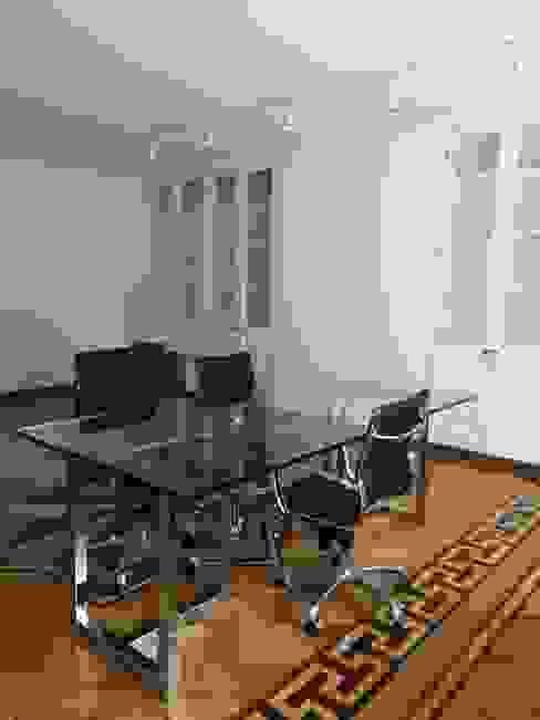 Oficina 1 Estudios y despachos modernos de doblev.arq Moderno