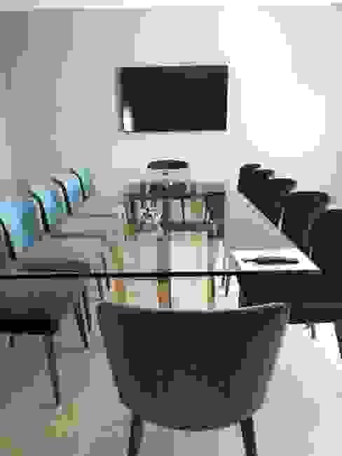 Sala de juntas 2 Estudios y despachos modernos de doblev.arq Moderno