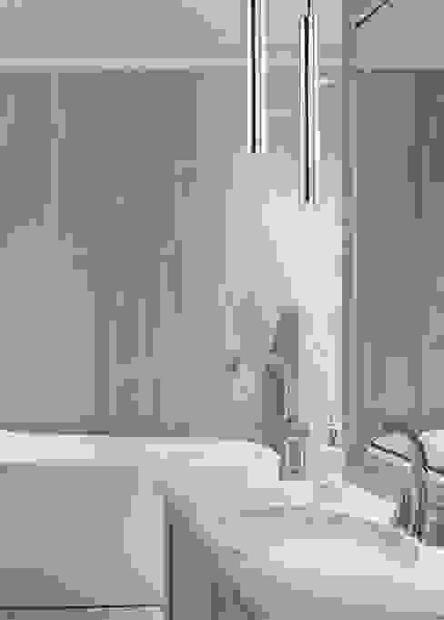 Desio Modern Brass Ceiling Pendant Light Led Bathroom: modern  by Luxury Chandelier, Modern Copper/Bronze/Brass