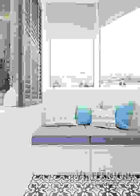 Lemonde housign complexe Vinterior - дизайн интерьера Balcony