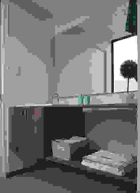 TikTAK ARQUITECTOS Tropical style bathroom