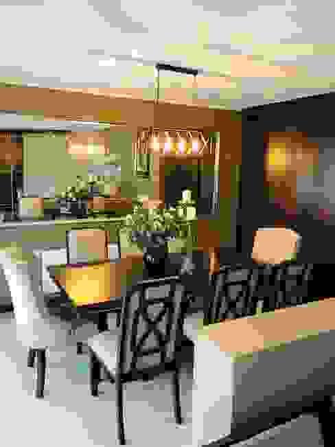 Comedor de Oscar Saavedra Diseño y Decoración Spa Moderno