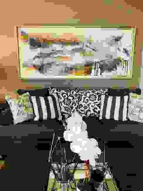 Sofá 3 cuerpos Ashley furniture de Oscar Saavedra Diseño y Decoración Spa Moderno