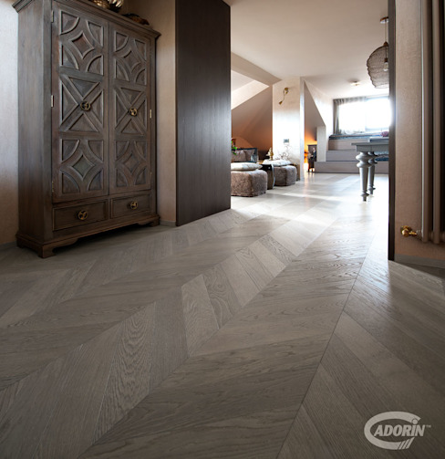 Oleh Cadorin Group Srl - Italian craftsmanship Wood flooring and Coverings Eklektik Kayu Wood effect