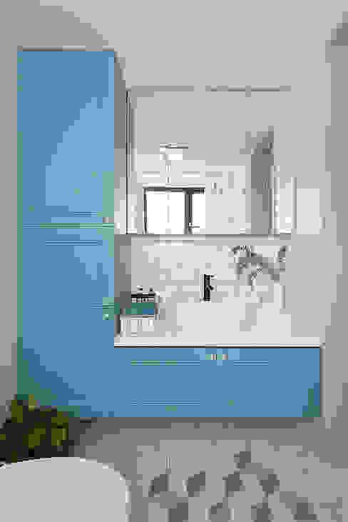 知域設計 Scandinavian style bathroom