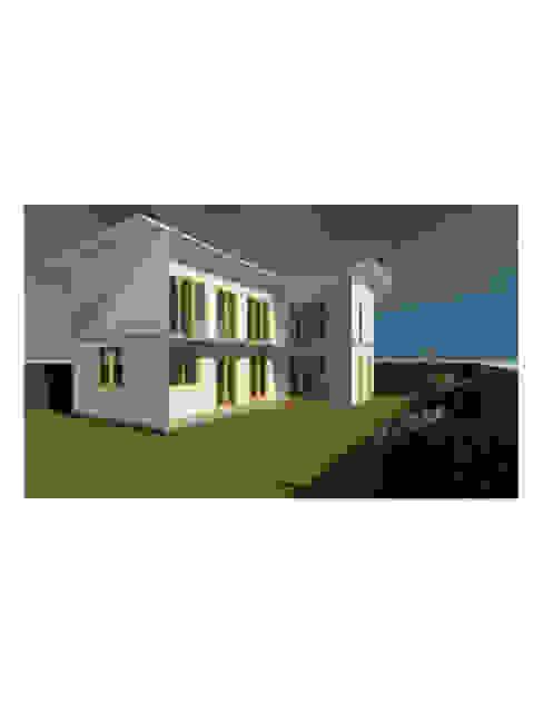 Fachada Casas de estilo mediterráneo de Constructora Alonso Spa Mediterráneo