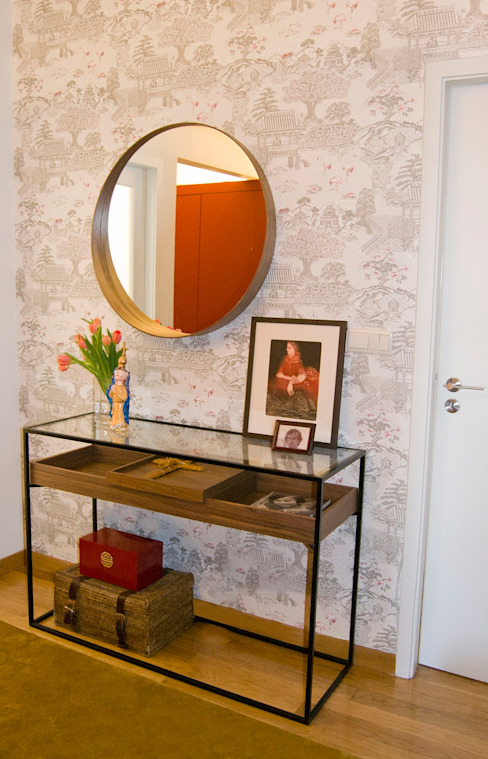 Remodelaç u00e3o de apartamento T4 em deliciosos tons quentes Porto -> Curso De Decoração De Interiores No Porto