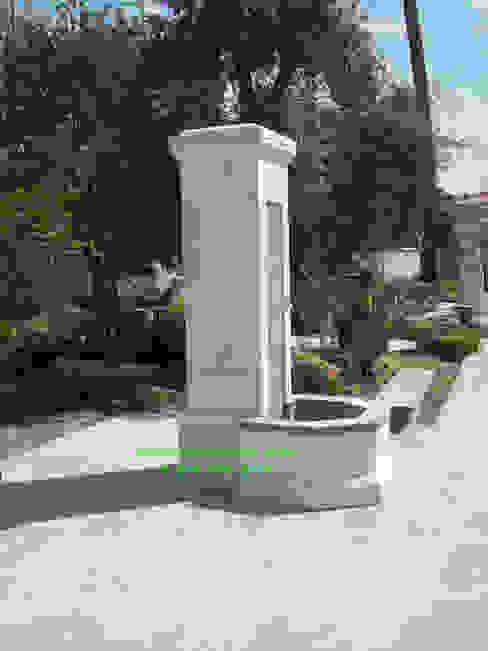 Taşcenter Acarlıoğlu Doğal Taş Dekorasyon – Urfa taşı çeşme modeli tarsus: modern tarz , Modern Taş