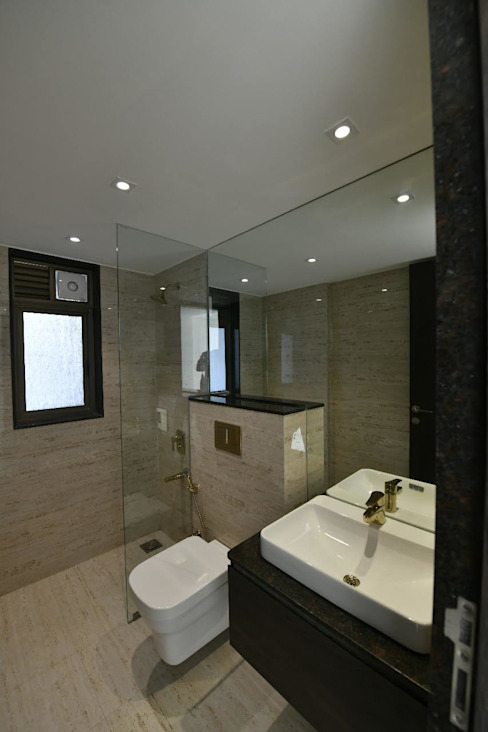 2bhk Sample flat,Mundhwa,Kp Annexe:  Bathroom by Ground 11 Architects,