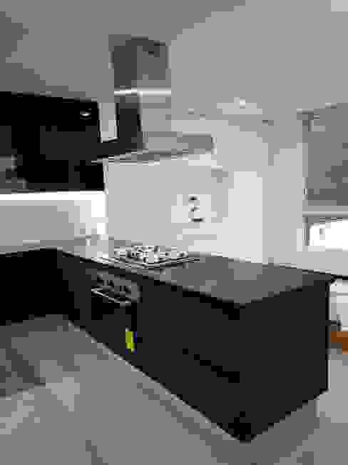 taller wb Built-in kitchens Glass Black
