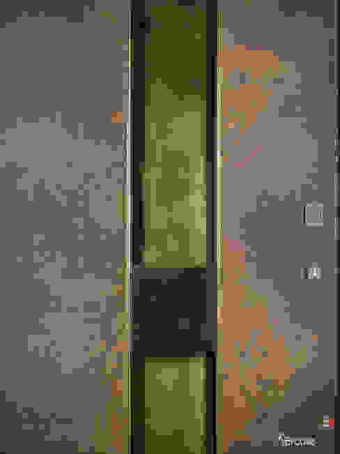 Maniglie in ottone a incasso per porta blindata Ercole Srl Porte d'ingresso Rame / Bronzo / Ottone Ambra/Oro