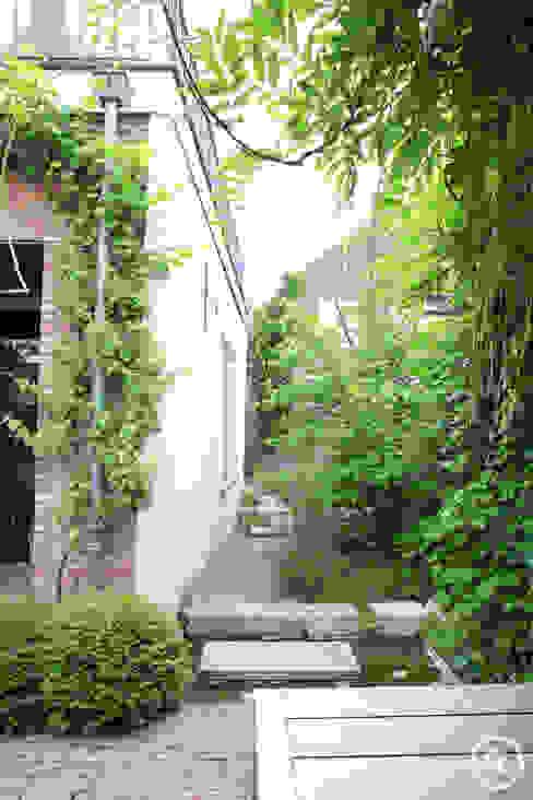 Binnentuin bij monumentaal pand De Rooy Hoveniers Moderne tuinen