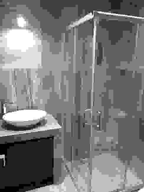 Cancel de Baño SPACIOVIVO Baños modernos Vidrio Transparente
