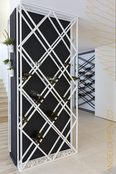 Open Space Paredes de Coura Adegas escandinavas por Angelourenzzo - Interior Design Escandinavo