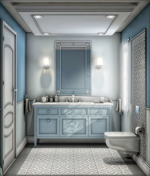 Bathroom by VERO CONCEPT MİMARLIK, Modern