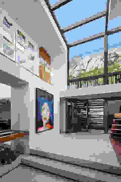 por Wright Architects Moderno Alumínio/Zinco