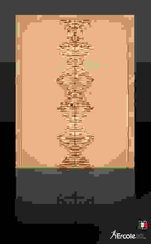 Porta con decorazione a mosaico Ercole Srl Porte Marmo