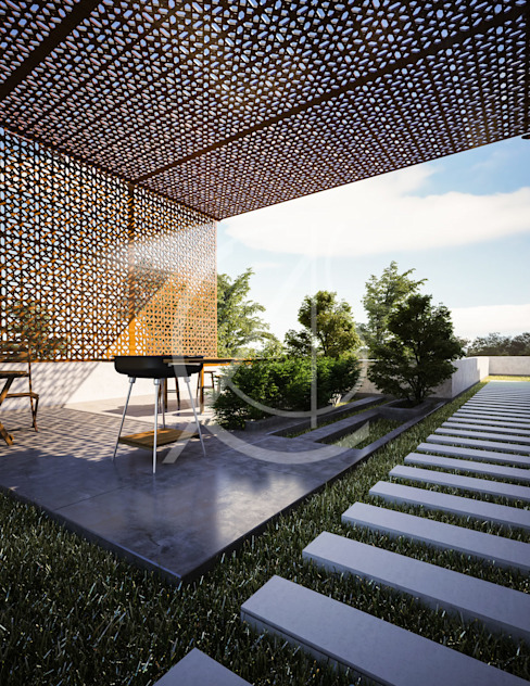 Traditional Arabic House Design by Comelite Architecture, Structure and Interior Design Modern