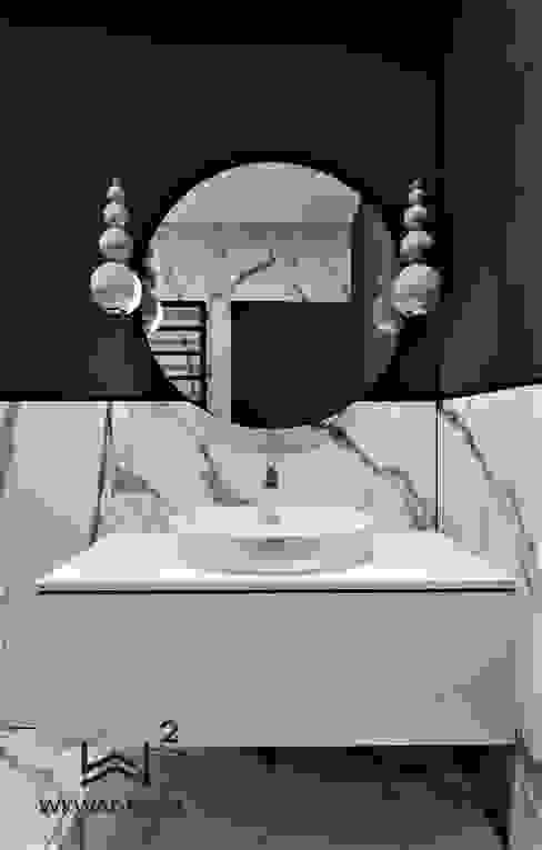 Bathroom by Wkwadrat Architekt Wnętrz Toruń,