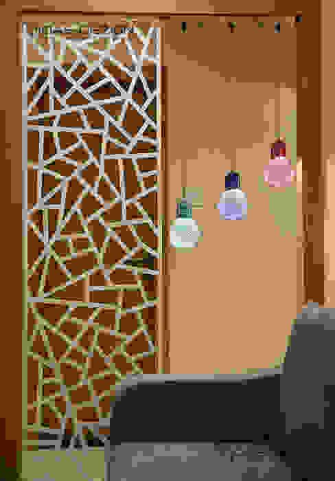 Pasillos, vestíbulos y escaleras de estilo minimalista de Midas Dezign Minimalista