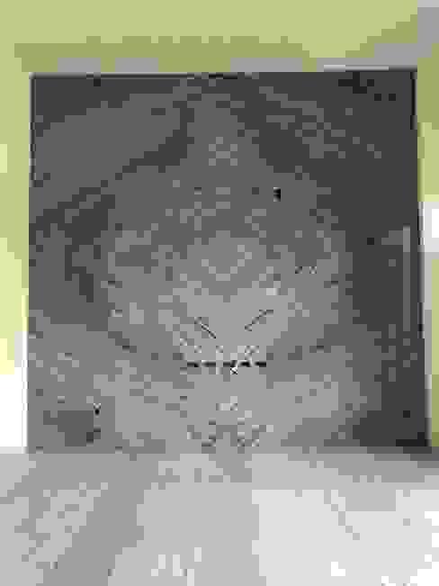 雙葉莊電視牆石材 根據 讚基營造有限公司 日式風、東方風