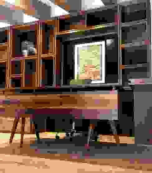 Manolo Campos, ebanistería contemporánea Classic style study/office Engineered Wood Wood effect