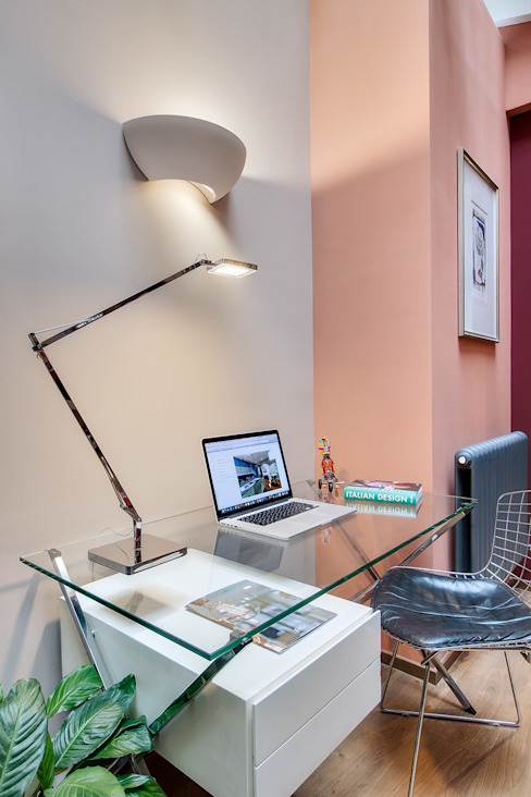 Study/office by Alessandra Pisi / Pisi Design Architectes, Modern