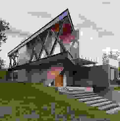 El Cielo Country Club : Casas multifamiliares de estilo  por EBA Architecture & Desing