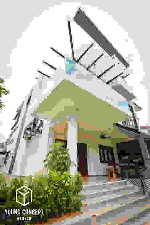 Semi-D @ Bukit Segar Modern houses by Young Concept Design Sdn Bhd Modern