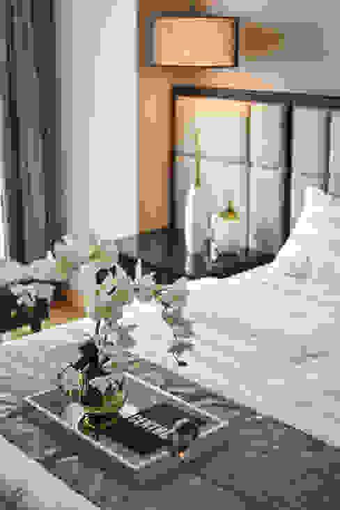 Ritz Carlton Residence Kuala Lumpur Blaine Robert Design Sdn. Bhd. Modern style bedroom