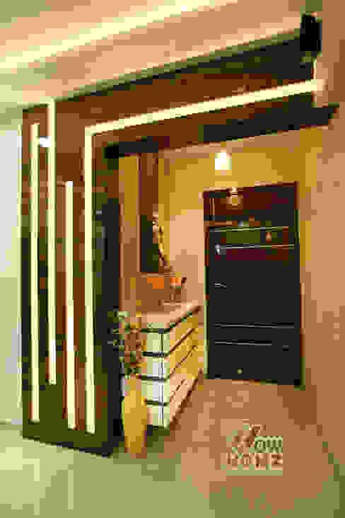 Foyer Area:  Corridor & hallway by Wow Homz,