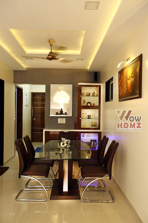 Dining Room:  Living room by Wow Homz,