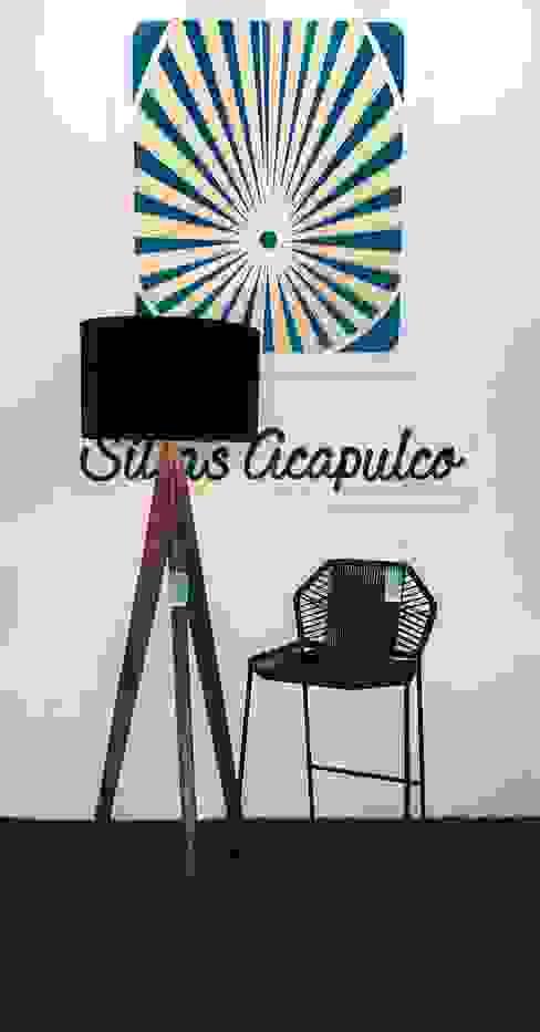 Sillas Acapulco varios modelos: Comedor de estilo  por SILLAS ACAPULCO ESTILO RETRO