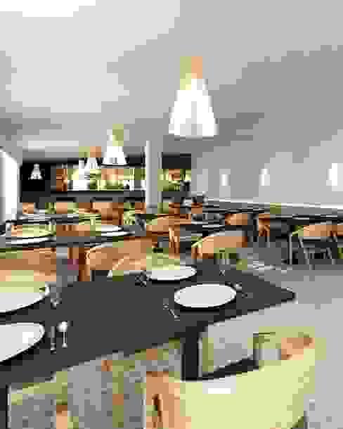 A importância da iluminação na decoração MIA arquitetos Salas de estar minimalistas