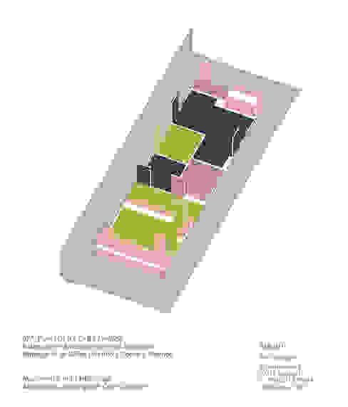 Farbkonzept für eine bessere Orientierung:   von AMUNT Architekten in Stuttgart und Aachen,