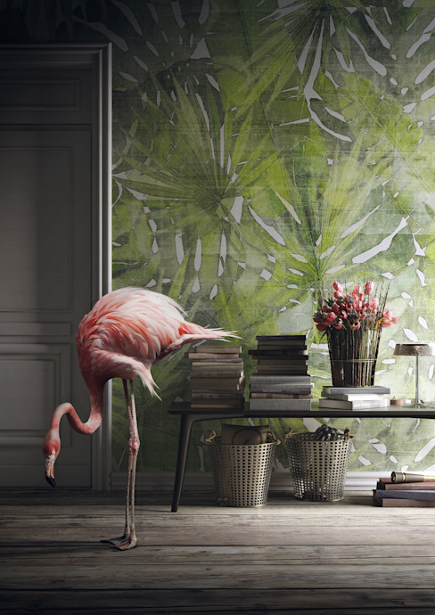 Tecnografica Modern walls & floors Green