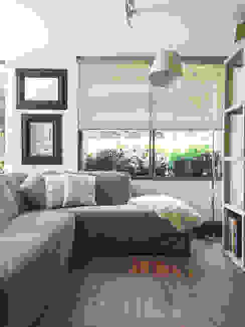 Proyecto el Golf Livings de estilo moderno de Casa Nómade Moderno