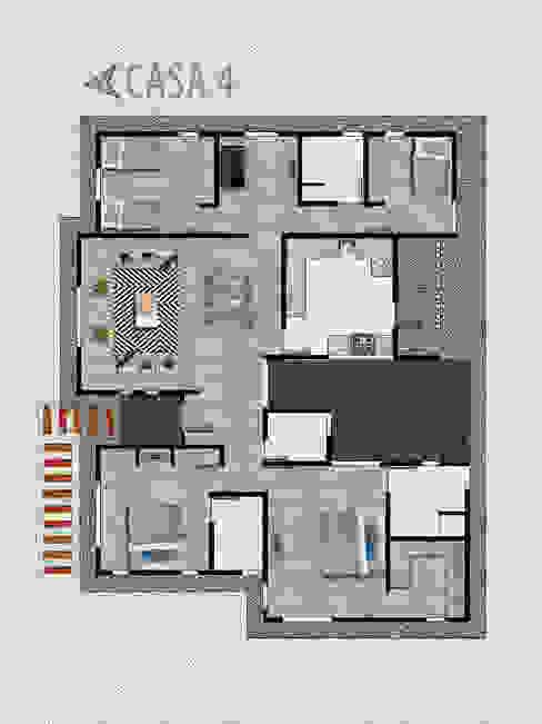PROYECTO ARQUITECTURA CONDOMINIO SANTO DOMINGO de Estudio Arquitectura y construccion PR/ Remodelaciones y Diseño de interiores / Santiago, Rancagua y Viña del mar