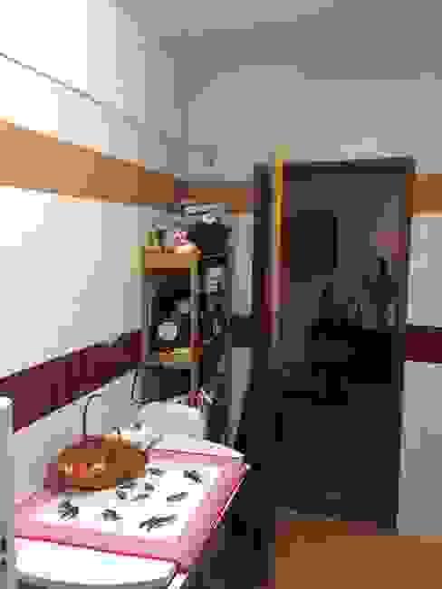 Cozinha - Antes Cozinhas modernas por CSR - Construção e Reabilitação em Lisboa Moderno