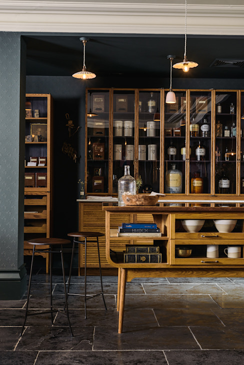 The Bond Street Haberdashery deVOL Kitchens Klassieke keukens Massief hout